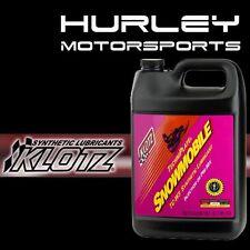 KLOTZ KL-216 Snowmobile Techniplate Synthetic TC-W3 Oil - Gallon - Qty (1)
