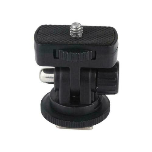 1//4 inch Screw Thread Cold Shoe Tripod Mount Adapter ABS Quality High K0K9