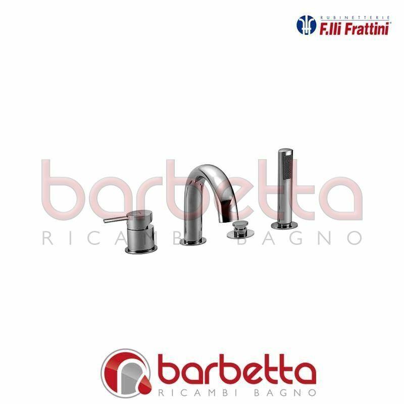 BATTERIA PER BORDO VASCA MONOCOMANDO CON BOCCA BRERA FRATTINI 59029