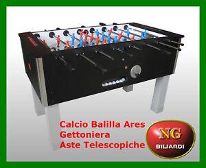 Calcio-Balilla-ARES-gettoniera-aste-telescopiche-CALCETTO-CON-GETTONIERA-A