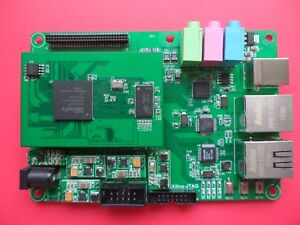 Details about Xilinx FPGA Development Board XC6SLX16,Jack Connector(JC),  Core & Expansion