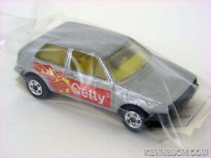 VW Golf Getty Silver Hot Wheels HW 1991 Gasoline Promotion Baggie