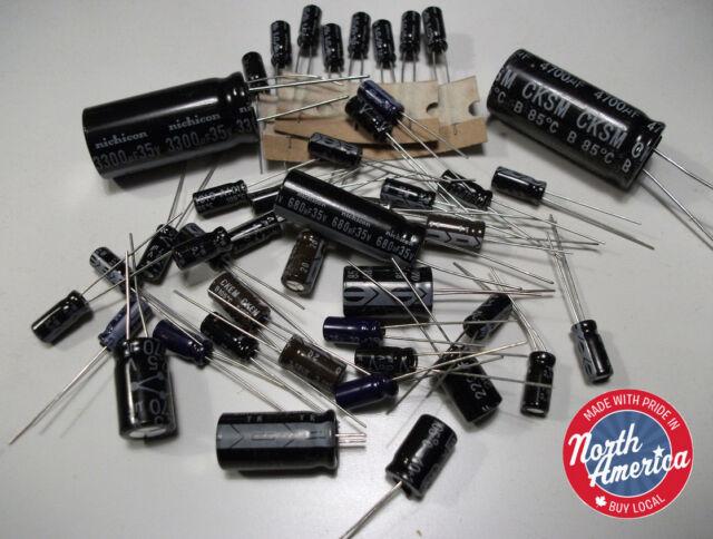 Electrolytic capacitor kit for Cobra 2000 GTL (Deluxe)