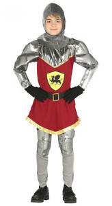 Boys-Kids-Medieval-Knight-Costume-Fancy-Dress-Book-Week-Outfit-New-Age-3-12