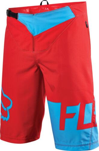 Black 34 36 Red Fox Flexair DH MTB Shorts 2016
