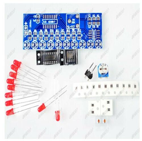 5PCS  Flowing Water Kit NE555 CD4017 Flowing Water Electronic DIY Parts