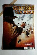 GUNFIGHT AT LA MESA COVER ART MINI POSTER BACKER CARD (NOT A movie)