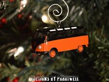 Volkswagen T2 Bus VW Samba Van 1/64th Camper Custom Christmas Ornament Bug Kombi