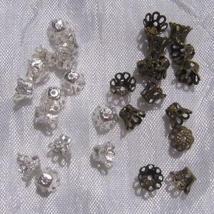 50-coupelles-AU-CHOIX-intercalaire-clochette-perle-metal-argente-bronze-6x5mm