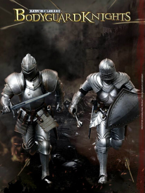 TEUTONIC KNIGHT FIGURE TOYS MODEL COOMODEL NO.PE001 1//12 POCKET EMPIRES