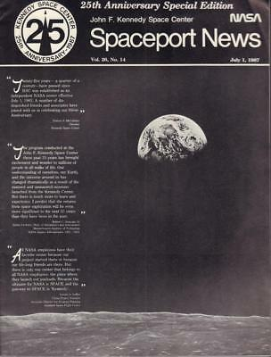 Astronauts & Space Travel No.14 Vg Cond 2019 New Style Rare July 1,198 Nasa Spaceport News Special 25th Anniv Vol 26