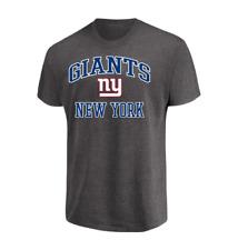 Majestic New York Giants NFL Heart /& Soul III Charcoal Mens T-Shirt