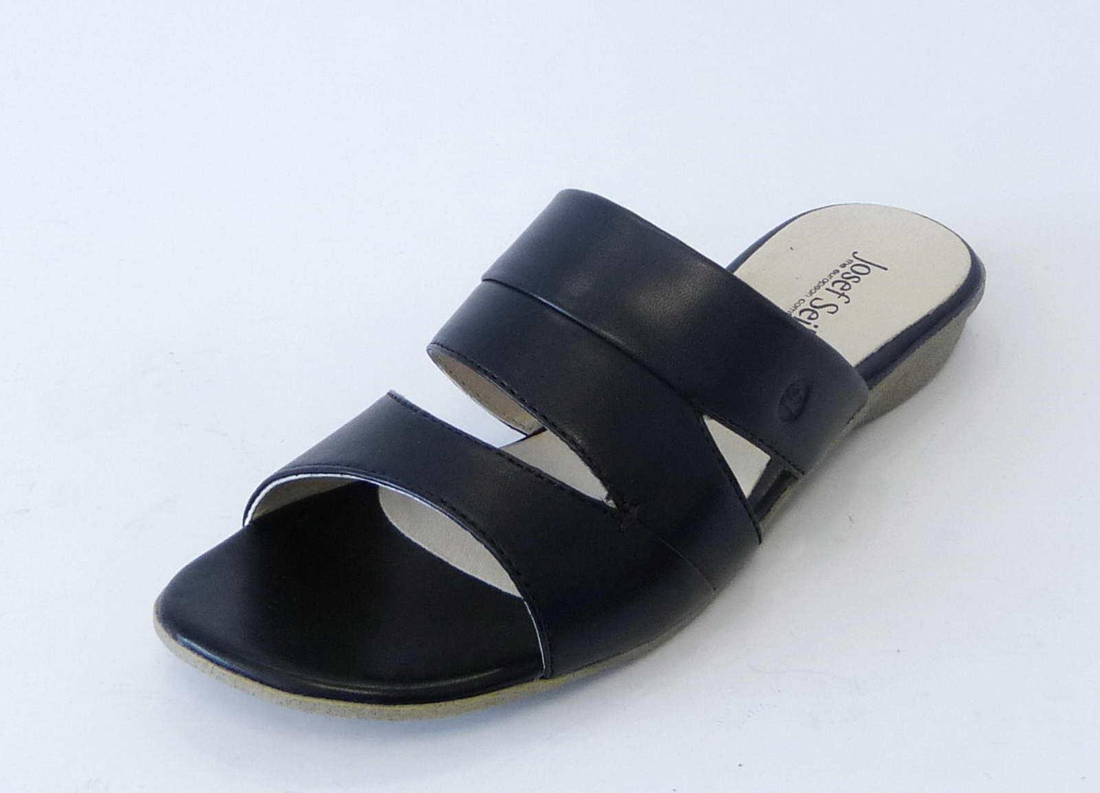 Josef Seibel Pantolette Fabia 12 schwarz Leder 87512 971 100 fein weich Sandale