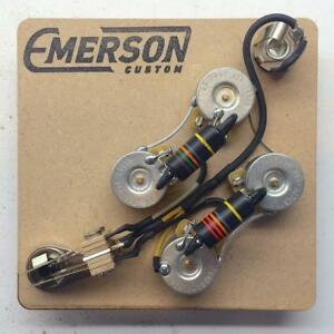 image is loading emerson-custom-sg-prewired-kit-wiring-harness-pots