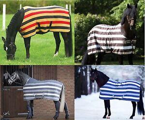 Image Is Loading Horseware Rambo Newmarket Fleece Cooler Travel Le Sheet