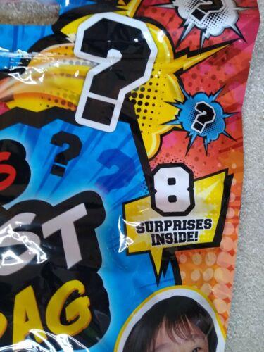 Ryan/'s World Biggest Blind Bag 8 Mystery Surprises Figure Ooze Plush SHIPS FREE