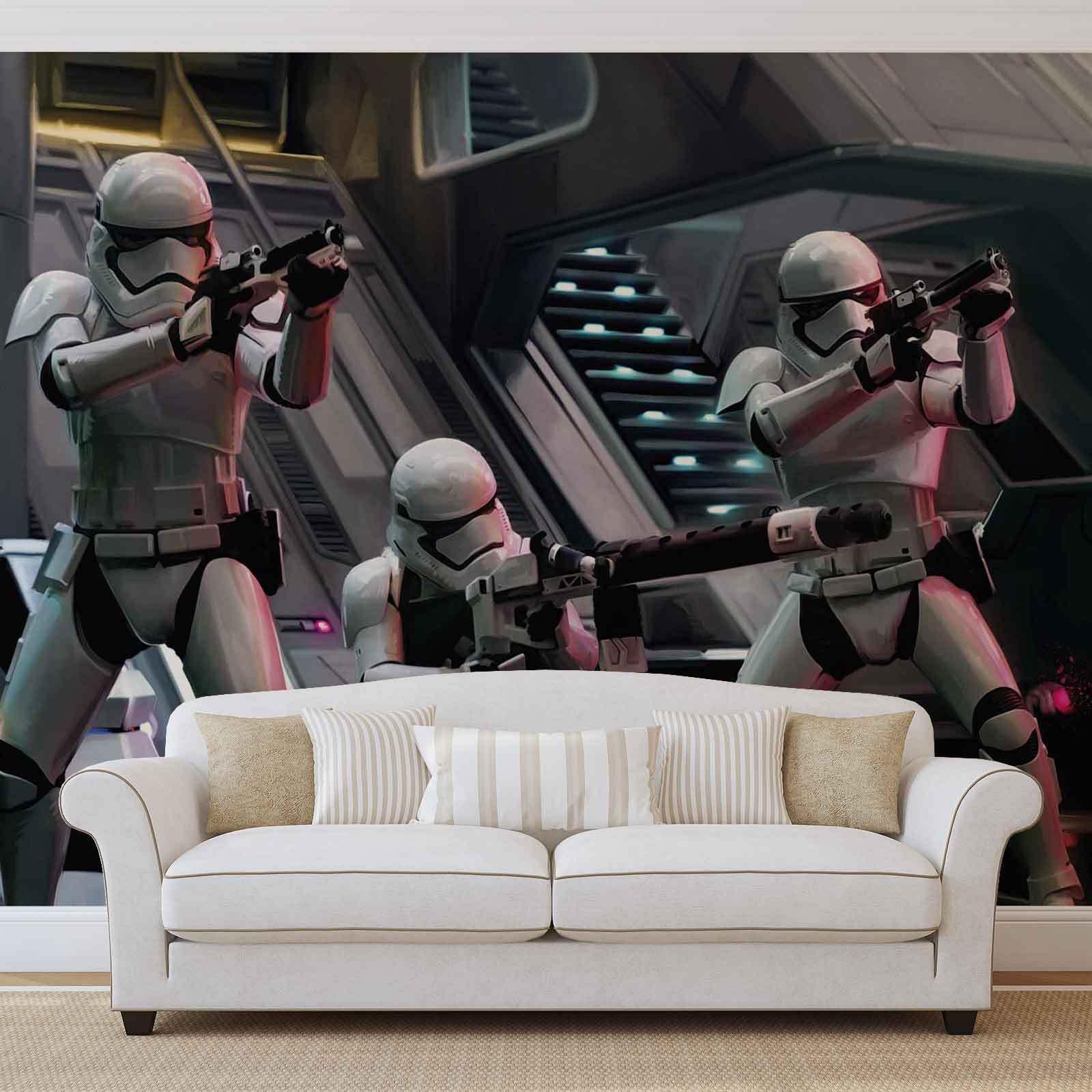 FOTOTAPETE VLIES FOTOMURAL XXL Star Wars Erwachen Macht (2742WS)