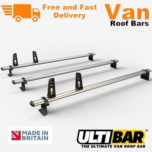 3 Roof Bars 2006 On Citroen Relay Van VG245-3