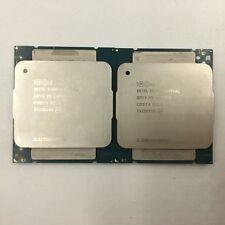 MATCHED PAIR OF Intel Xeon E5 2630L V3 ES QEYX 1.8GHz 20MB 8Core LGA CPU