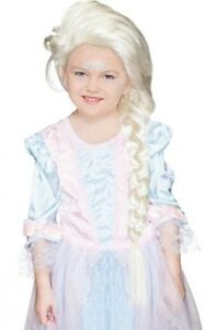 Girls-Long-Blonde-Plaited-Fairytale-Book-Day-Week-Fancy-Dress-Costume-Outfit-Wig