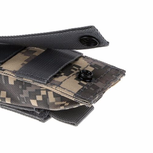 Tactical Single Pistol Magazine Pouch Hunting Open Top Ammo Molle Pouch Clip Bag