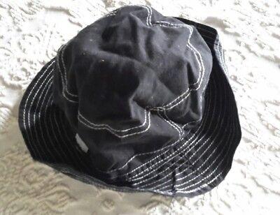 100% Vero Cappellino Donna Deha , Colore Nero, Tg Unica In Cotone Senza Ritorno