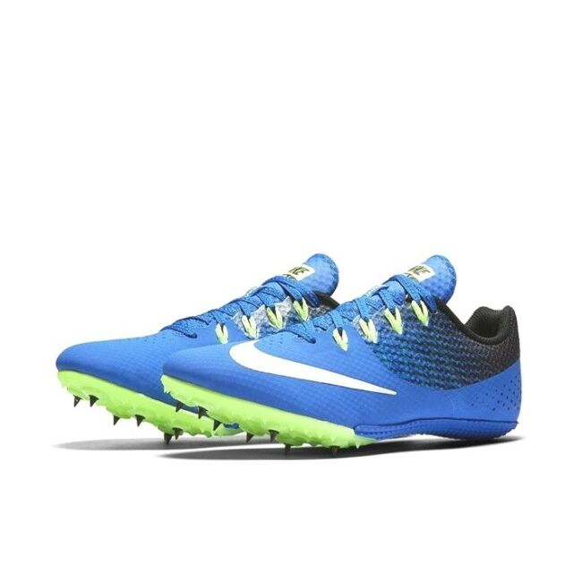 3c400f0e253 Nike Zoom Rival S 8 Track Sprint Spikes5 Blue Black 806554-413 Men Size 9