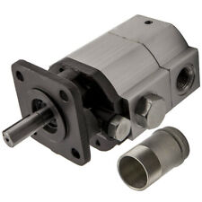 New 11gpm Hydraulic Log Splitter Pump Frontback 2 Stage High Low Gear Pump