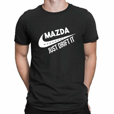 Eat Sleep JDM Mens Black T Shirt Funny Drift Honda Mazda Rally DUB Novelty Gifts