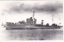 "ORIGINAL Photograph Royal Navy. HMS ""Echo"" Destroyer. Greek ""Navarinon"" 1938"