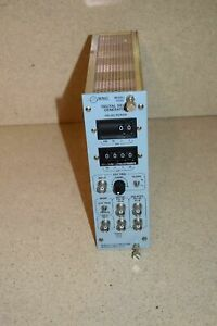 BNC MODEL 7050 DIGITAL DELAY GENERATOR NIM BIN PLUG IN (TP1006)