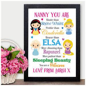 Caricamento Dellimmagine In Corso Personalizzato Compleanno REGALI PER TATA Nan Nanna Nonna