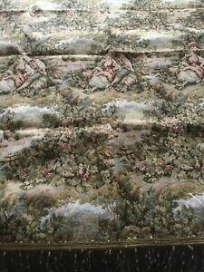 Beautiful-Vintage-Jacquard-Tablecloth