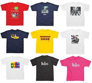 Oficial-Beatles-Camiseta-Manga-Corta-Nino-Musica-Ropa-Nino-Nina-Todas-las-Tallas