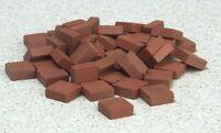 Kiln Fired Model Patio Bricks, Doll House Miniature, Diy, Fixtures & Fittings