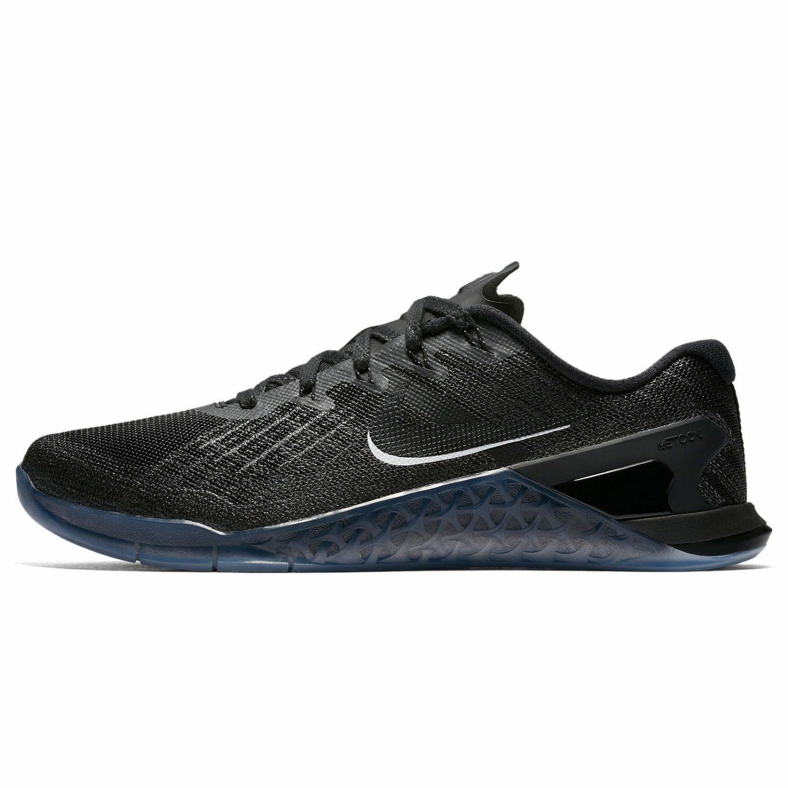 Nike Men's Metcon 3 - Black Black-White (852928-011)
