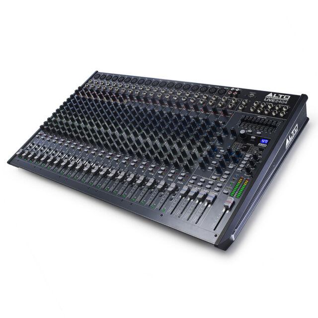 Alto Professional Live 2404 24-Channel 4-Bus Mixing Desk + USB Studio Mixer + FX