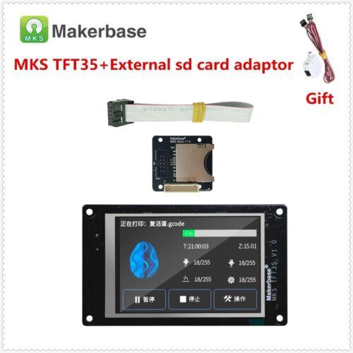 TEVO Tarantula Pro upgrade parts 3d printer display MKS TFT35 touch screen Slot2