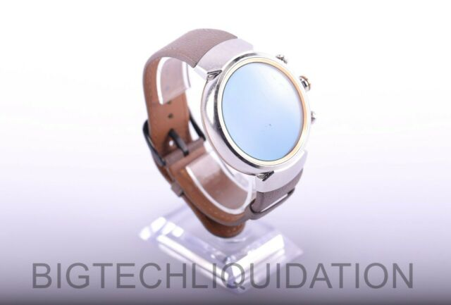 Asus Zen Watch 3 WI503Q - Silver, Leather