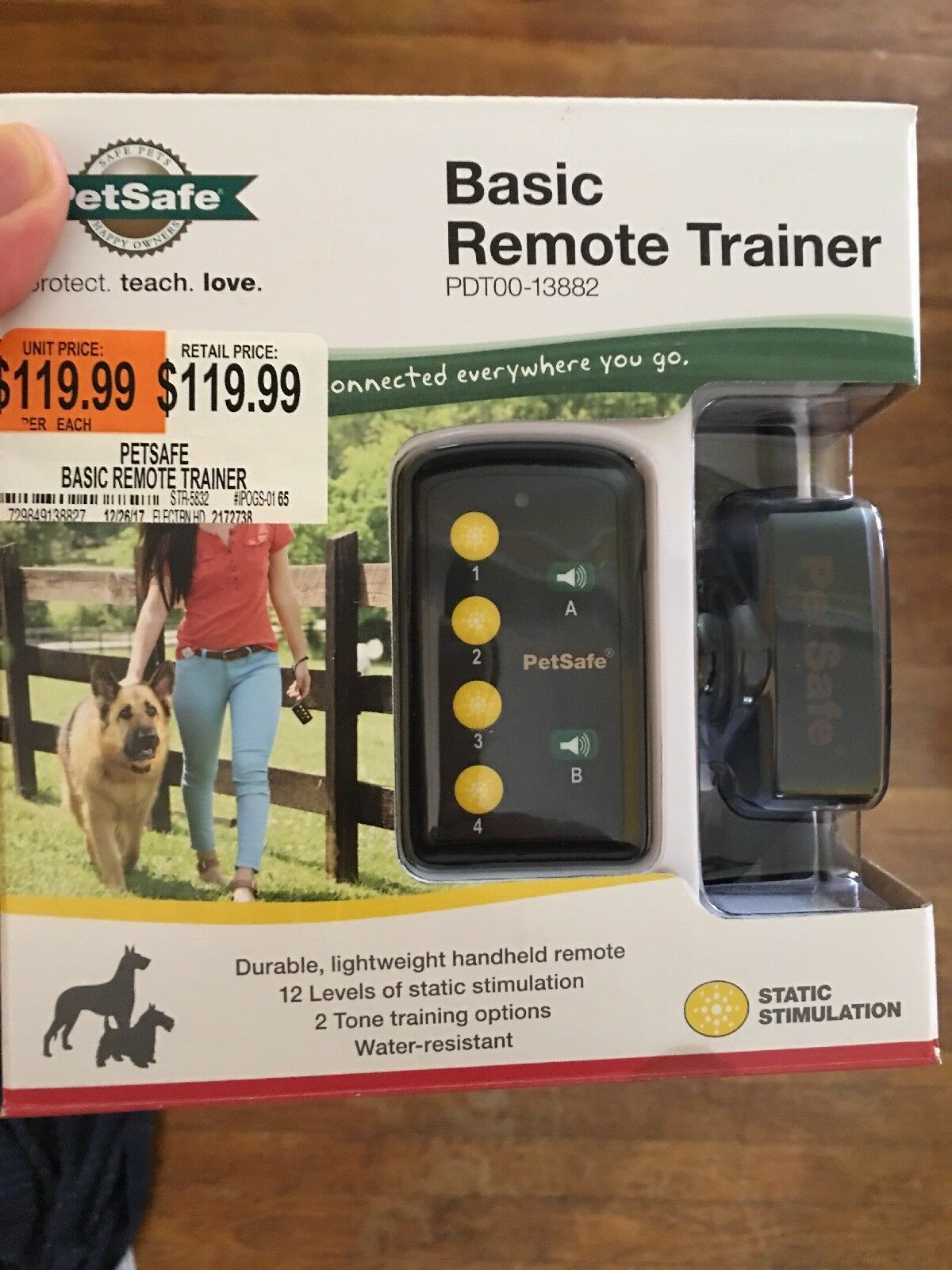 PetSafe PDT0013882 Basic Remote Trainer