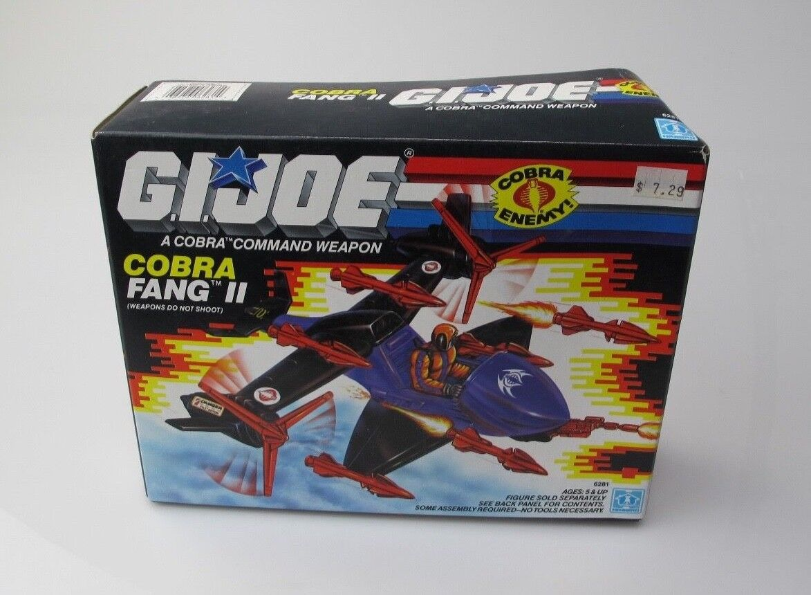 GI JOE COBRA FANG 2 COBRA ENEMY 1988 BRAND NEW IN THE BOX