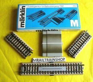 7193 MARKLIN HO-CONTACTRAIL OVERWEG/VOIE CONTACT PASSAGE A NIVEAU(D2101795)