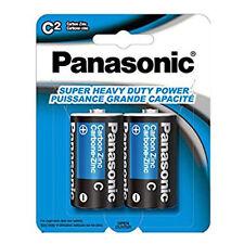 3,840x Panasonic Size C Batteries Super Heavy Duty  Zinc Carbon Wholesale Lot US