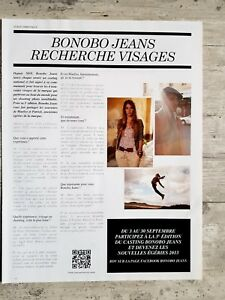 Bonobo jeans advertising research faces casting 2012 advert