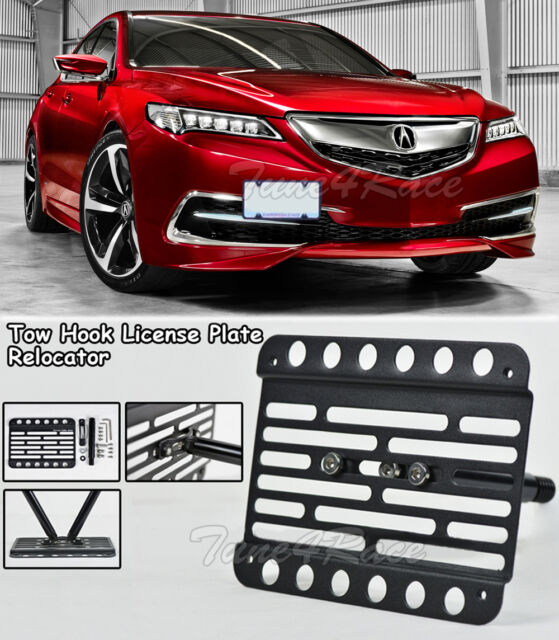 For 2015-2017 Acura TLX Front Bumper Tow Hook License