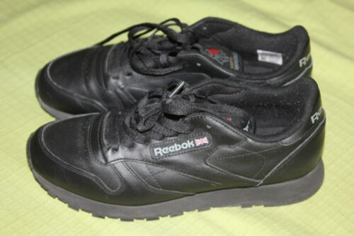 Chaussures Reebok Chaussures Chaussures Reebok Classic noires noires Classic Reebok Classic noires BqrTBwS