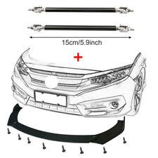 Front Bumper Spoiler Lip Splitter Body Kit For Toyota Camry Se Xse Glossy Black Fits 2002 Toyota Corolla