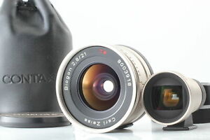 [Exc+5] Contax Carl ZEISS Biogon 21mm f/2.8 Lens w/ Finder for G1 G2 From JAPAN