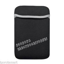 """Marca Nuevo Negro 8"""" 7.8"""" Bolsa Bolsa De Transporte Para Tablet Accesorio Samsung Galaxy Note"""