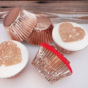 Gold Foil Cupcake Cases Pack of 45